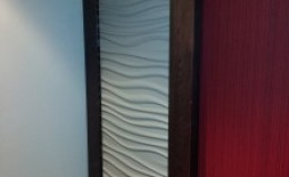 FormArt & White Oak Surface Mounted Sliding Door