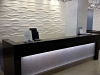 Aquaview Wall Panels and Reception Desk