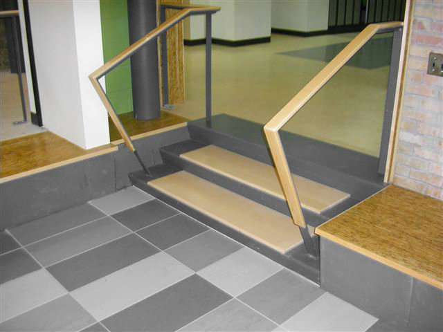 Branksome Hall Handrail and Capping