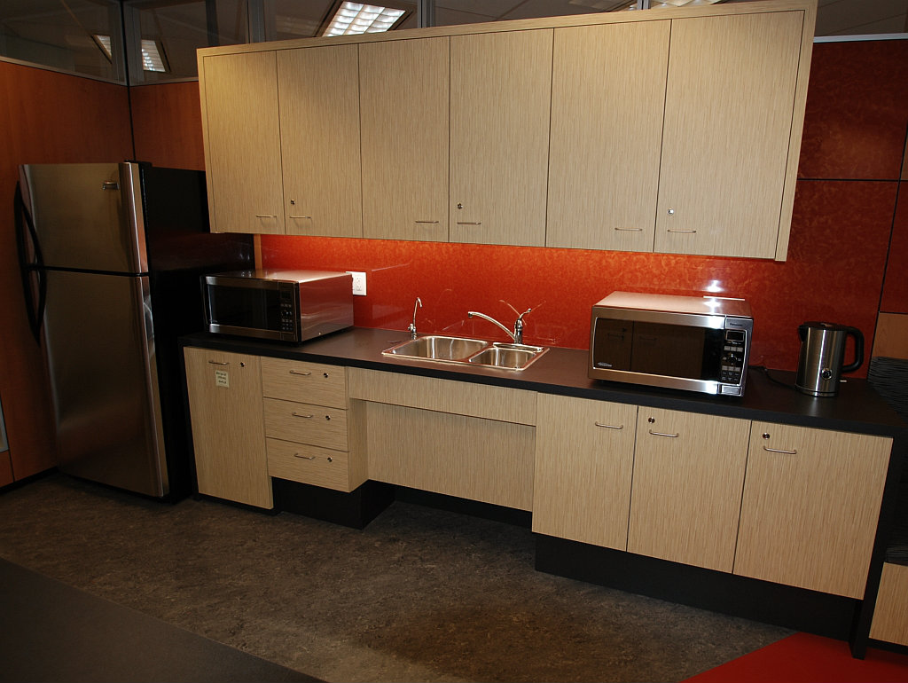 Canada Revenue Agency Kitchenette