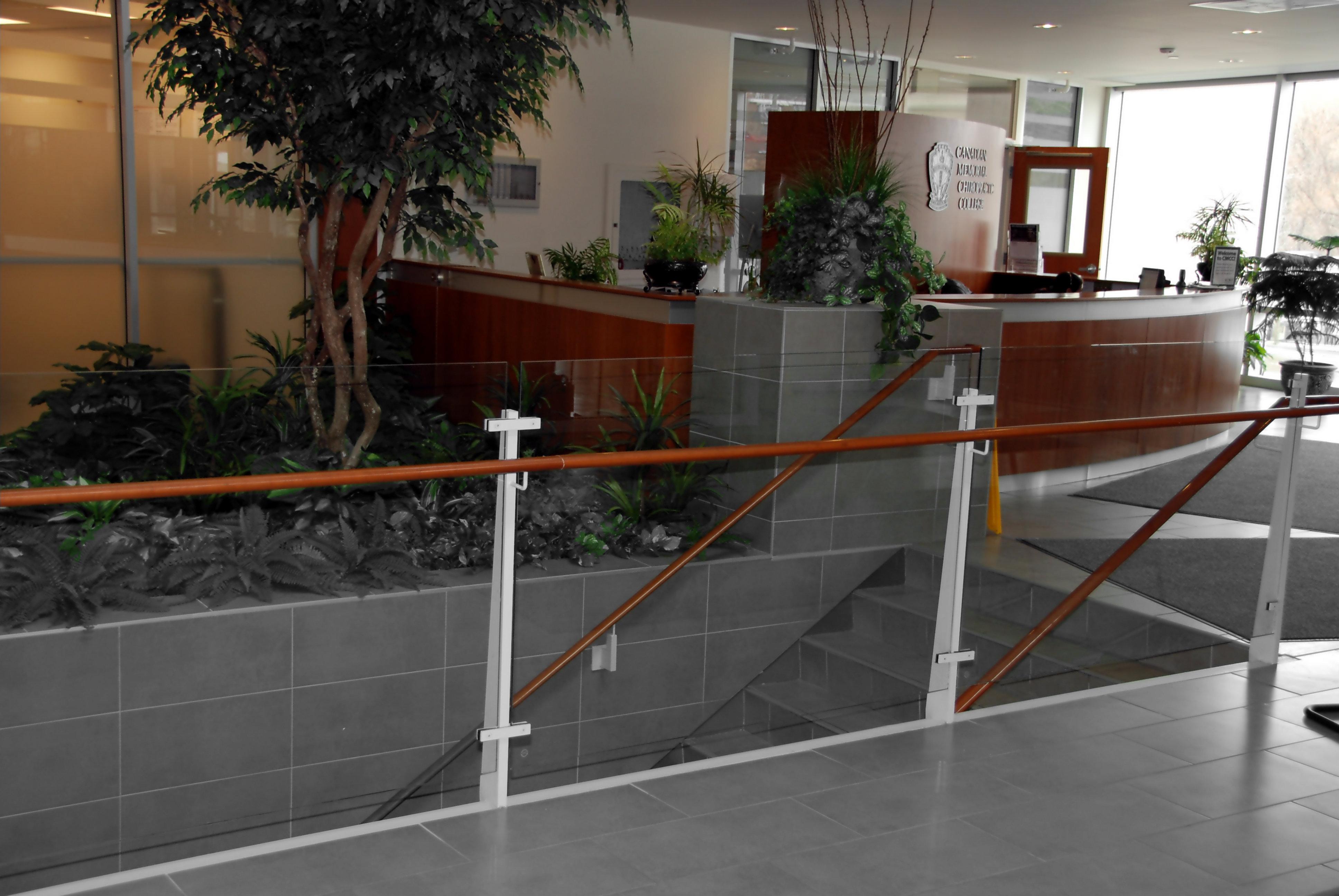 Chiropractic College Handrail