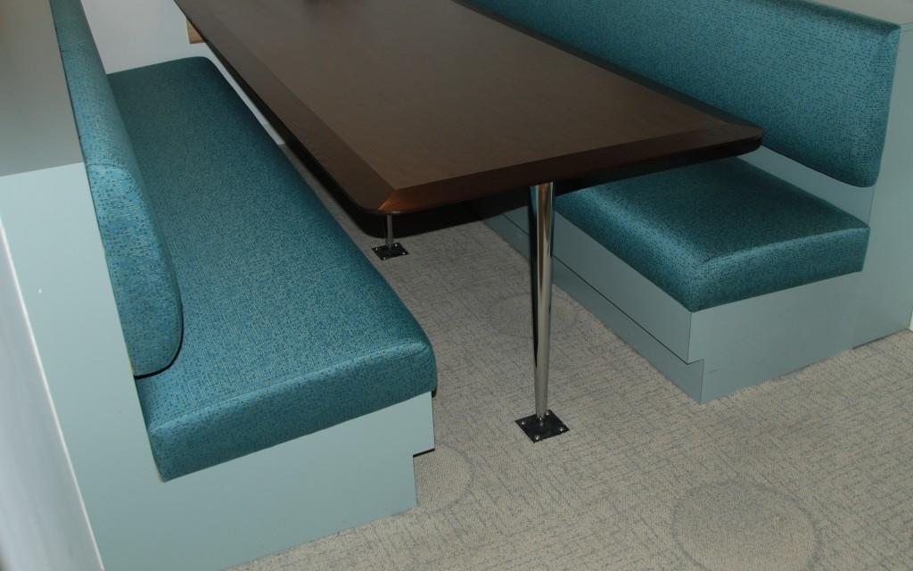 Registered Nurses Association Upholstered Bench