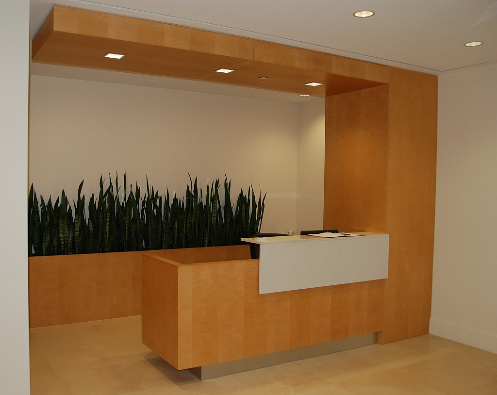 Canada Colors Reception Desk