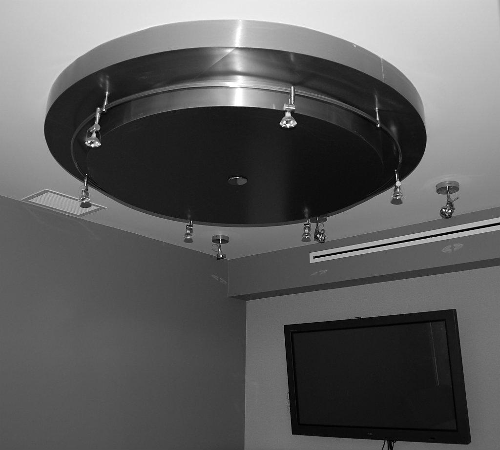 Circular Octolam Ceiling Feature
