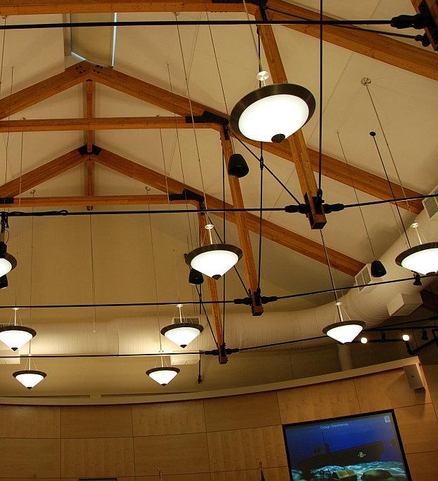 Indoor Beam Ceiling