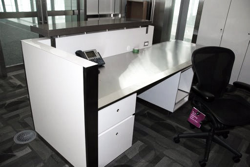 Desk with transaction top