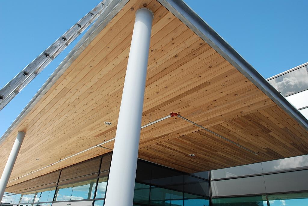 Orillia West Ridge Sports Complex Ceiling