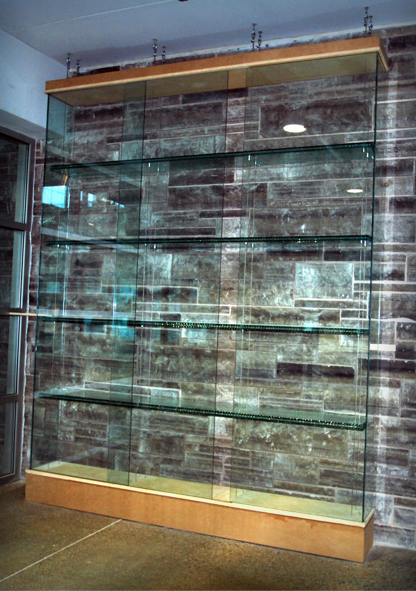 Orillia Sports Complex Glass Display Unit
