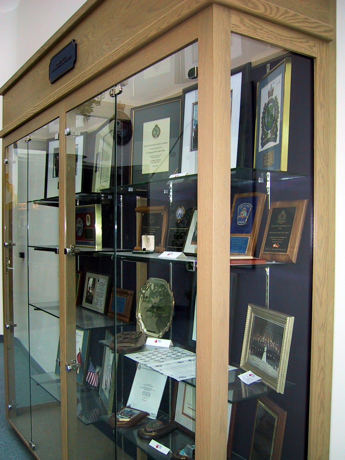 YRP Display Case