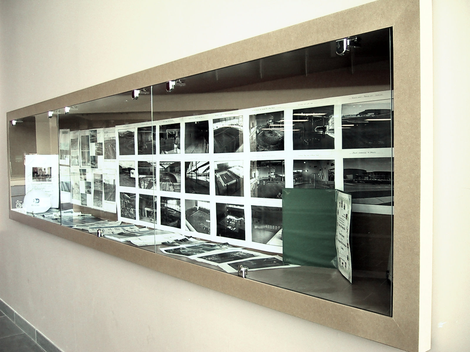 Corridor Built-In Display Case