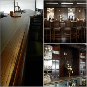 Oak Office Bar