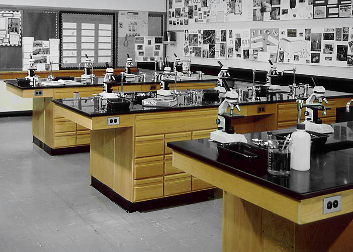 Custom Laboratory Furniture For School Classrooms