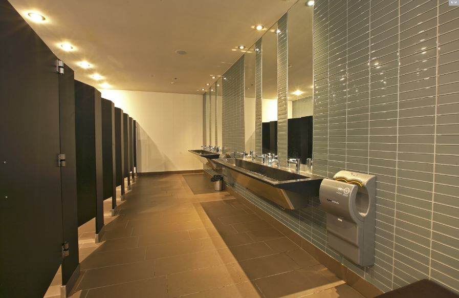 Phenolic Stainless Steel Toliet Partitions Willsëns Architectural - Wooden bathroom stall doors