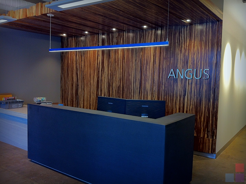 Angus Systems Reception Desk Wills 235 Ns Architectural