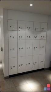 Corian Lockers