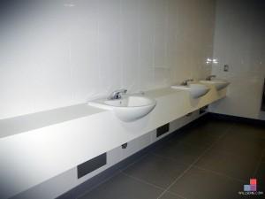 Corian Washroom Vanity