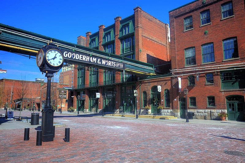 Gooderham Condo Front Lobby Wills 235 Ns Architectural